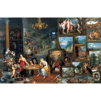 - Quadro -La vista y el olfato- - Bruegel