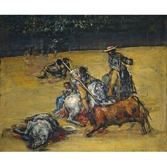 quadros de animais - Quadro -Corrida de toros- - Goya y Lucientes, Francisco de
