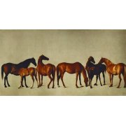 Quadro -Mares and Foals- (caballos)