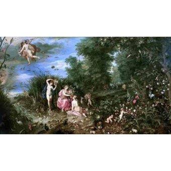 - Quadro -Los cuatro elementos- - Bruegel