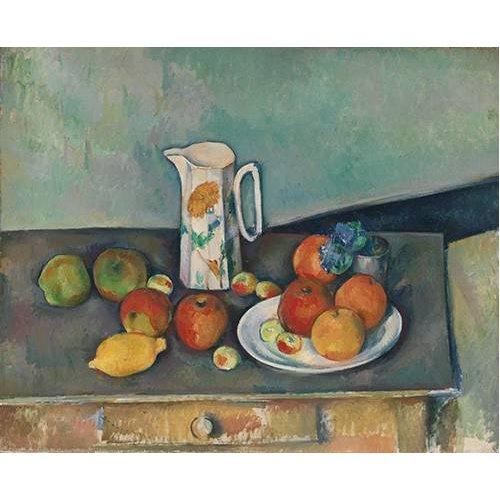 Quadro -Bodegon con frutas y jarra-