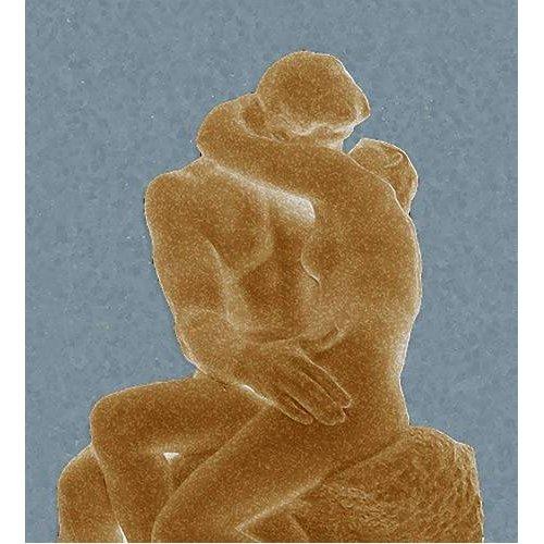 pinturas modernas - Quadro -The Kiss (El beso)-