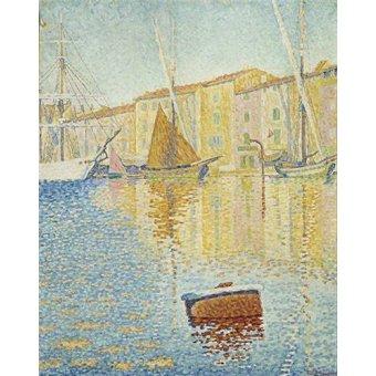 - Quadro -La Bouée rouge, Saint-Tropez, 1895- - Signac, Paul