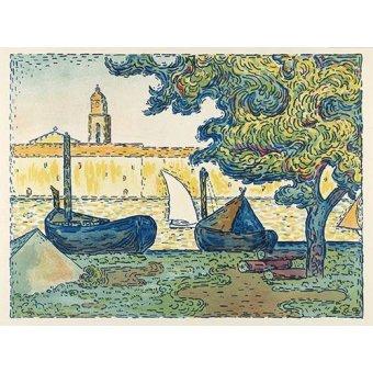 - Quadro -Saint-Tropez- - Signac, Paul