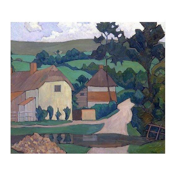 pinturas de paisagens - Quadro -The Ford-