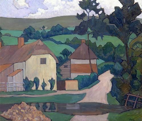 quadros-de-paisagens - Quadro -The Ford- - Bevan, Robert