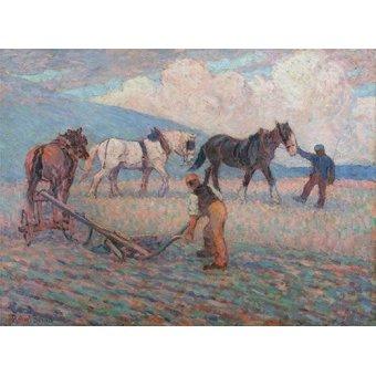 - Quadro -The Turn Rice-Plough, Sussex- - Bevan, Robert