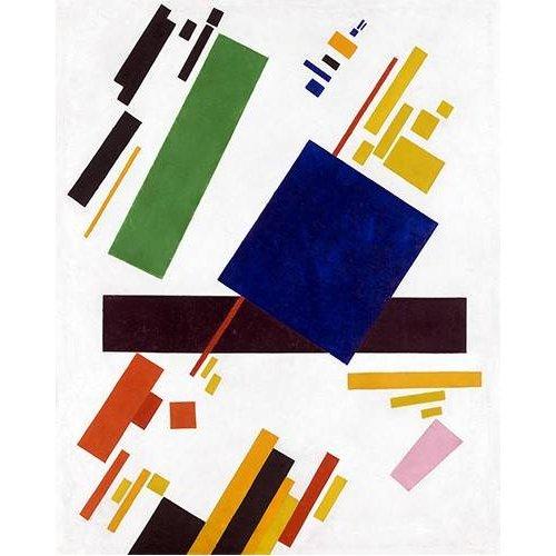 pinturas abstratas - Quadro -Suprematist Composition-