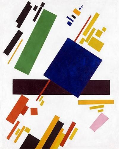 quadros-abstratos - Quadro -Suprematist Composition- - Malevich, Kazimir S.