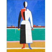 Quadro -Woman with rake, 1930-32-
