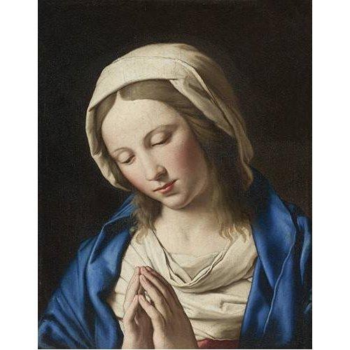 Quadro -La Virgen Rezando (II)-