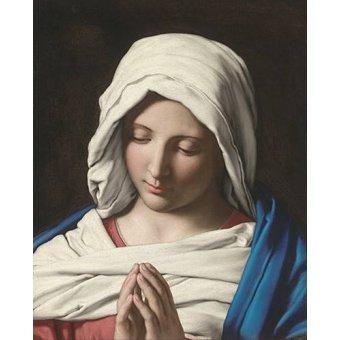 quadros religiosos - Quadro -La VIrgen Rezando- - Sassoferrato