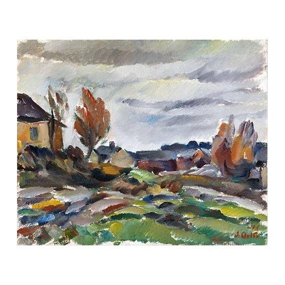 pinturas de paisagens - Quadro -Storm-