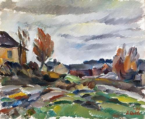 quadros-de-paisagens - Quadro -Storm- - Aalto, Ilmari