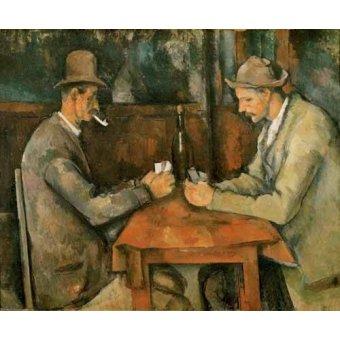 Quadro -Los jugadores de cartas, 1890-