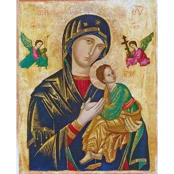 cuadros religiosos - Cuadro -Virgen Del Perpetuo Socorro- - _Anónimo