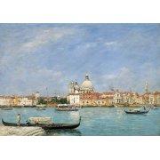 Quadro -Venice, Santa Maria della Salute from San Giorgio-
