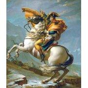 Quadro -Bonaparte cruzando los Alpes, 1801-