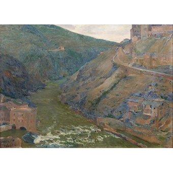 - Quadro -El Tajo, Toledo- - Beruete, Aureliano de