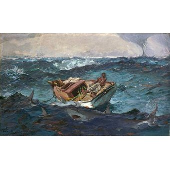 - Quadro -The Gulf Stream, 1899- - Homer, Winslow