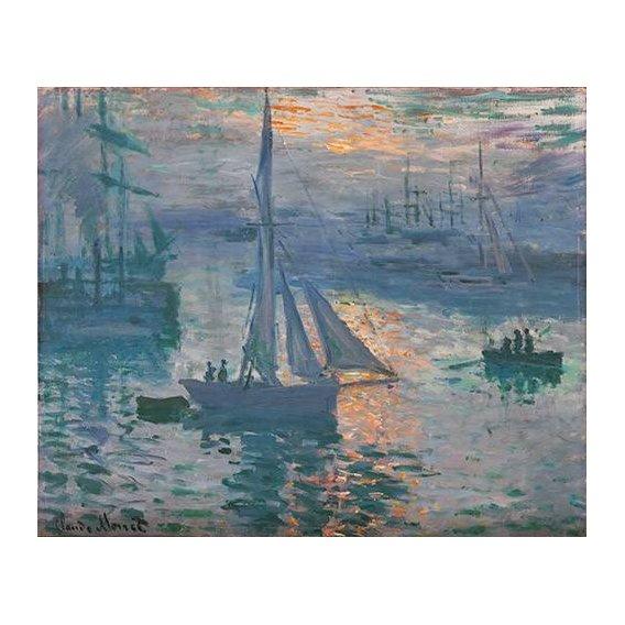 pinturas de paisagens marinhas - Quadro -Amanecer (Marina)-