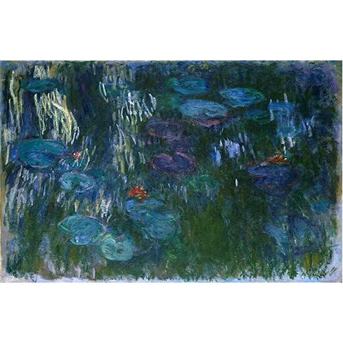 Quadro -Water Lilies (2)-