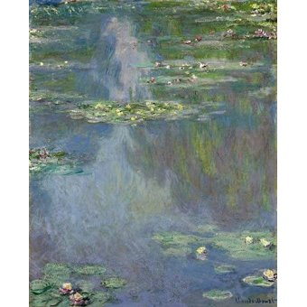 - Quadro -Nympheas- - Monet, Claude