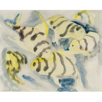 - Quadro -Fish Series, No-3- - Demuth, Charles