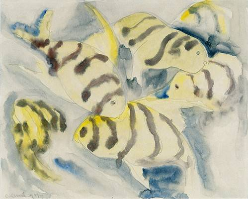 quadros-modernos - Quadro -Fish Series, No-3- - Demuth, Charles