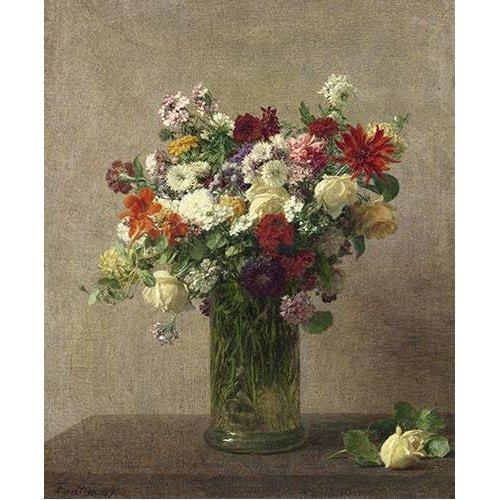 imagens de flores - Quadro -Flores en un jarron-