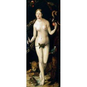 quadros nu artistico - Quadro -Eva- - Dürer, Albrecht (Albert Durer)