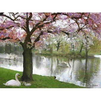 quadros de paisagens - Quadro -Moderne CM10430- - Medeiros, Celito