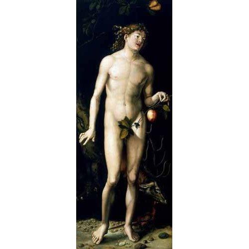 imagens religiosas - Quadro -Adán-