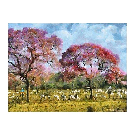 pinturas modernas - Quadro -Moderno CM10670-