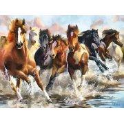 Quadro -Moderno CM10750- (caballos)