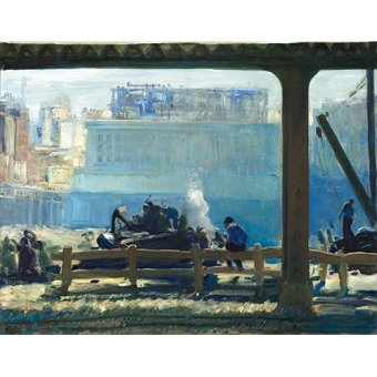 - Quadro -Blue Morning- - Bellows, George