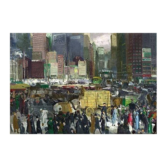 pinturas modernas - Quadro -New York, 1911-