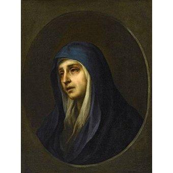 quadros religiosos - Quadro -La Dolorosa- - Murillo, Bartolome Esteban