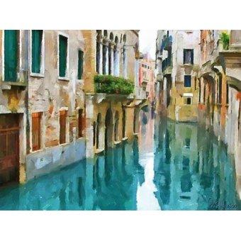 quadros de paisagens - Quadro -Moderno CM10515- - Medeiros, Celito