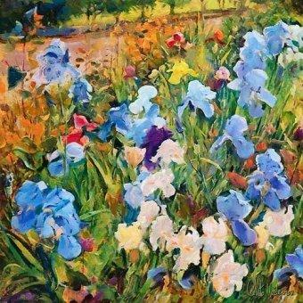 quadros de flores - Quadro -Moderno CM12200- - Medeiros, Celito