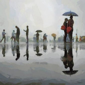 pinturas de retratos - Quadro -Moderno CM12500- - Medeiros, Celito