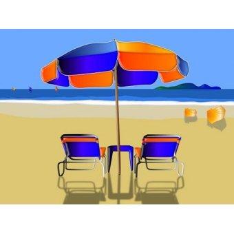 quadros de paisagens marinhas - Quadro -Moderno CM9707- - Medeiros, Celito