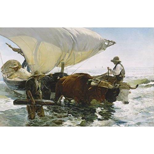 Quadro -Retornar de Pesca-