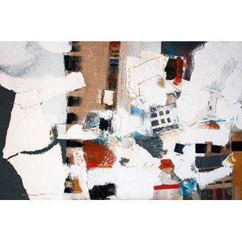 Quadros abstratos - Quadro -Abstrato - Interiores (A) - - Herron, Marisa
