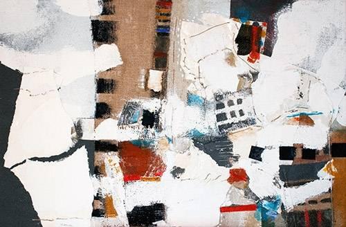 quadros-abstratos - Quadro -Abstrato - Interiores (A) - - Herron, Marisa