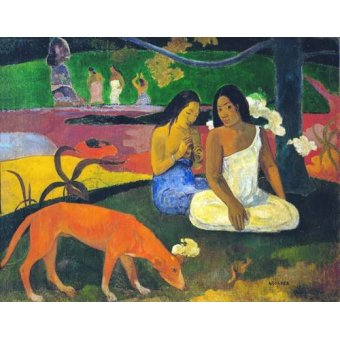 - Quadro -Arearea- - Gauguin, Paul