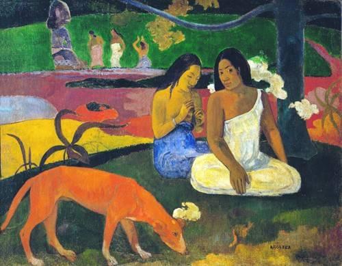 pinturas-de-retratos - Quadro -Arearea- - Gauguin, Paul
