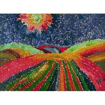 quadros de paisagens - Quadro -Caminho- - Morgner, Wilhelm
