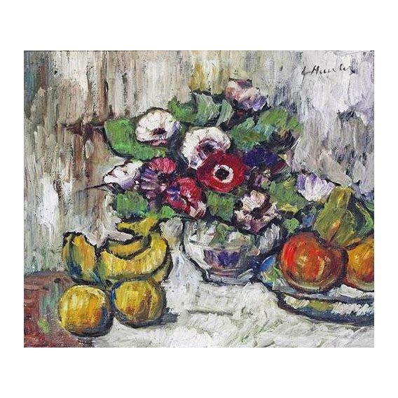 Quadro -El jarrón azul (1889-90)-