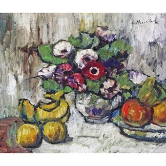 naturezas mortas - Quadro -Still Life With Anemones- - Hunter, G.L.